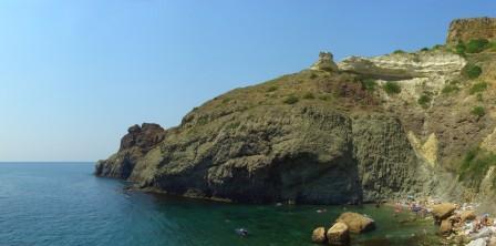 дом на Фиоленте у моря
