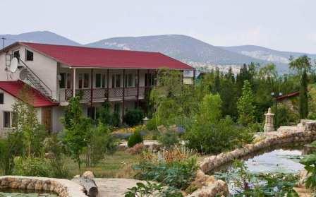 посуточно дом в Севастополе Орлиное Байдарская долина