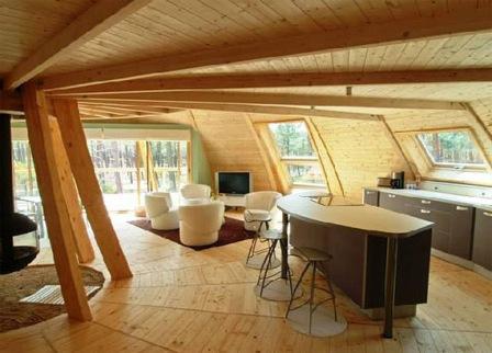 дома из древесины ручной рубки