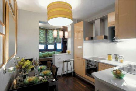 присоединение лоджии к комнате или кухне
