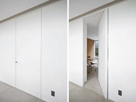 двери invisible в современном интерьере