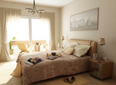 Дизайн и пошив штор в спальню
