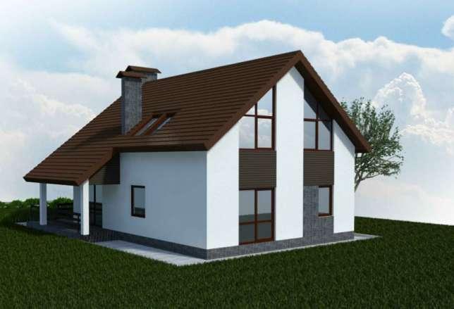 Новый дом в коттеджном поселке