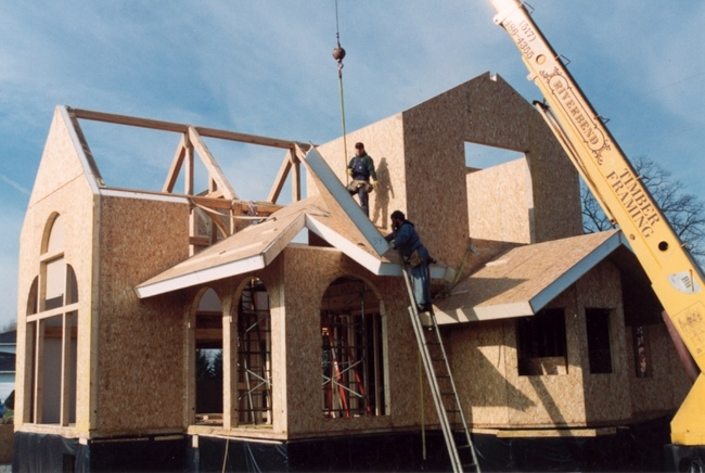 Строительство домов из СИП-панелей