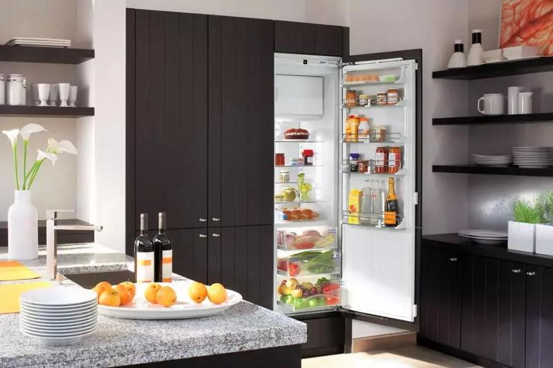 Встраиваемый холодильник: преимущества и недостатки